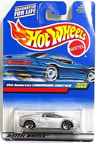 HotWheel Lamborghini 25th Countach 001-01