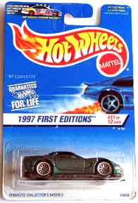 HotWheel CORVETTE 1997 First EDITIONS 001-01