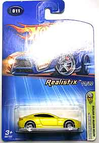 HotWheels Aston Martin V8 Vantage 2005 First EDITIONS 001-01