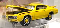 Johnny Lightning 1970 OLDSMOBILE CUTLASS RALLY 350 001-02
