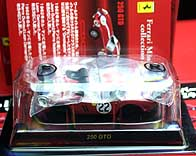 KYOSHO FERRARI 250GTO No.22 RED 001-01