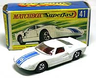 MATCHBOX FORD GT-40 001-01
