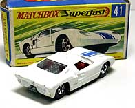 MATCHBOX FORD GT-40 001-03